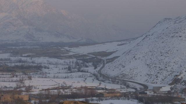 une petite vue de la vallée vue